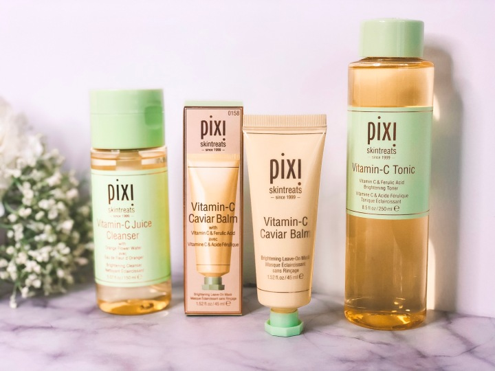 My new skincare routine featuring PixiSkintreats